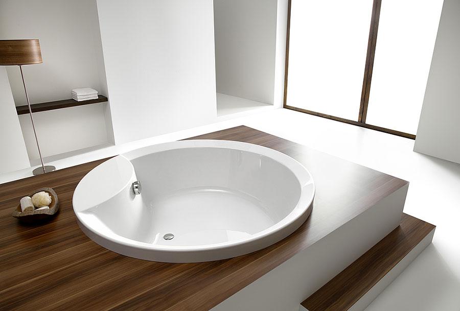 Modello di vasca da bagno rotonda n.10