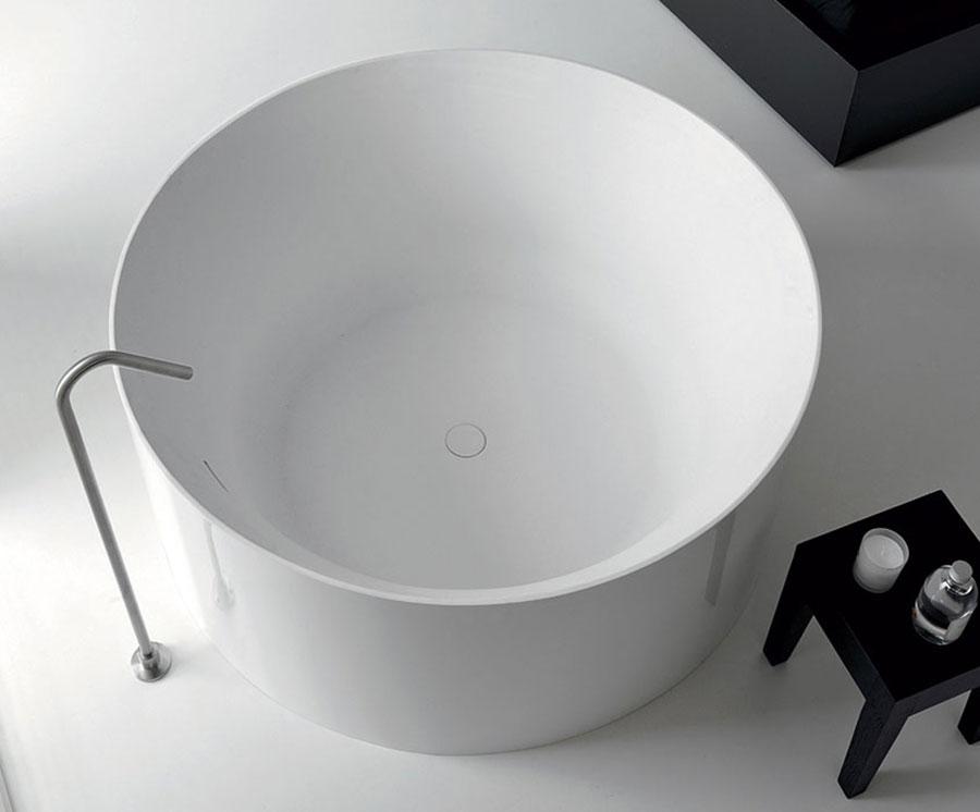 Modello di vasca da bagno rotonda n.11