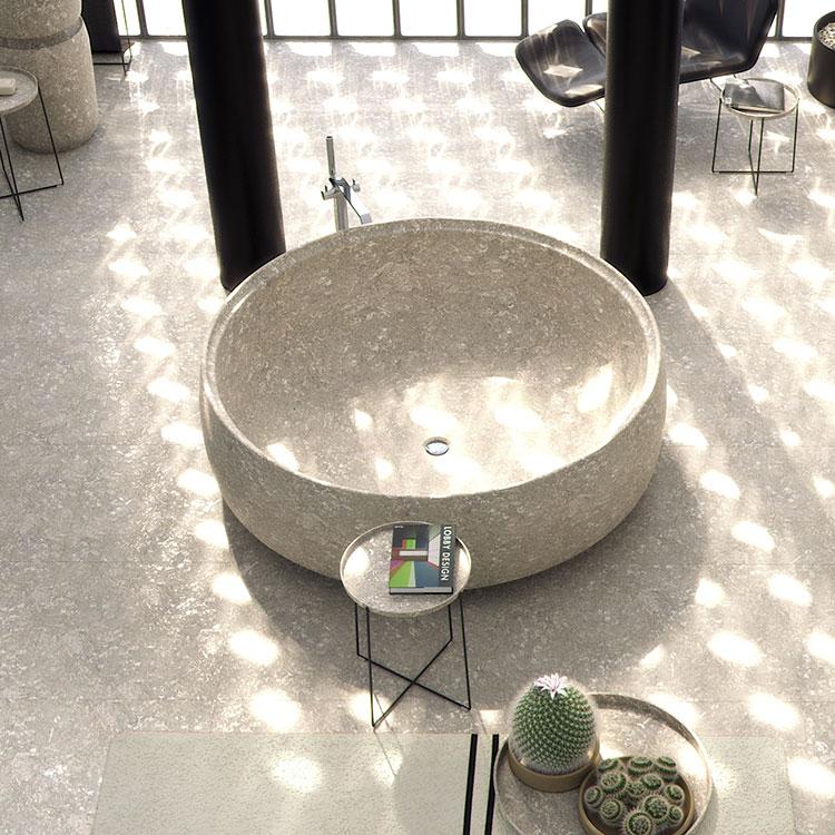Modello di vasca da bagno rotonda n.14