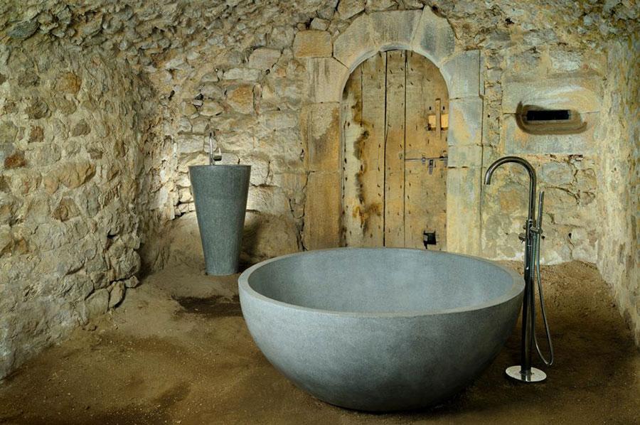 Modello di vasca da bagno rotonda n.16
