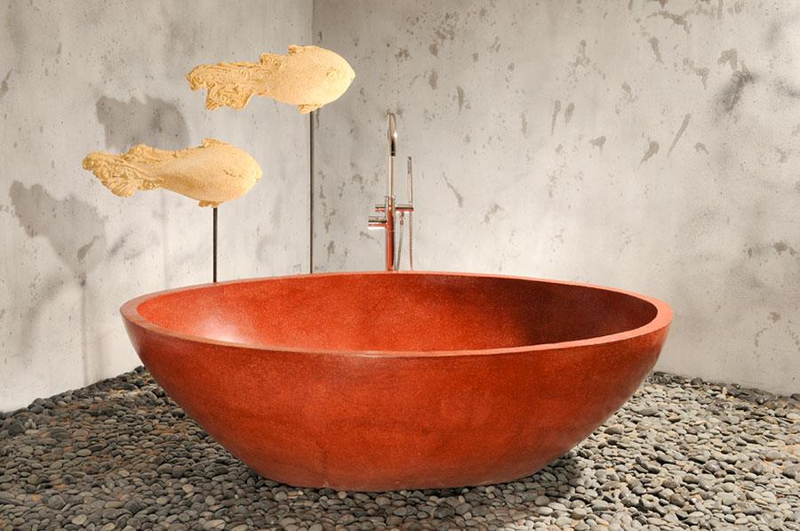 Modello di vasca da bagno rotonda n.17