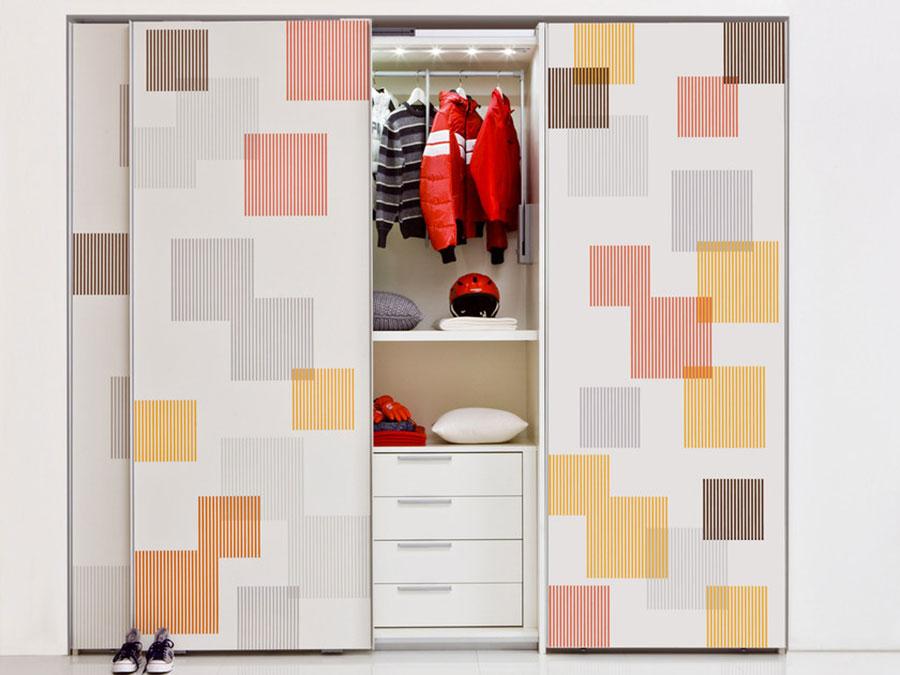 Modello di armadio per la cameretta dei bambini n.04