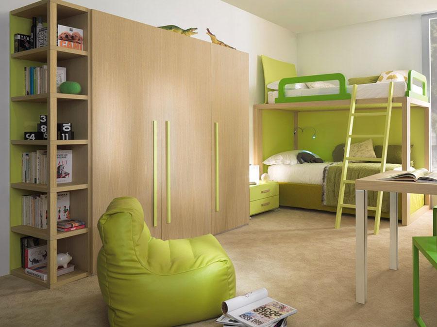 Modello di armadio per la cameretta dei bambini n.07