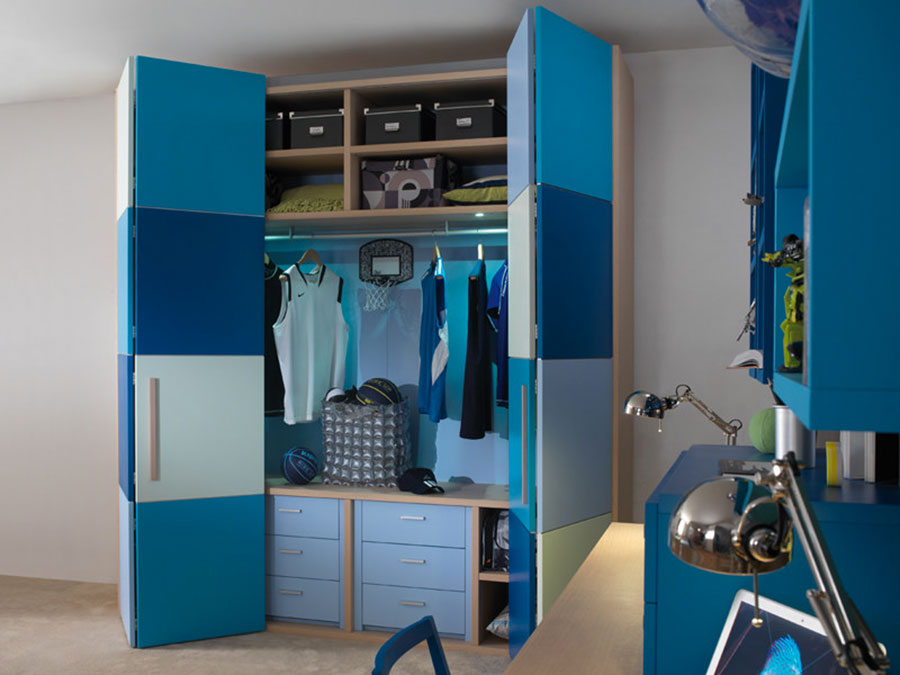 Modello di armadio per la cameretta dei bambini n.08