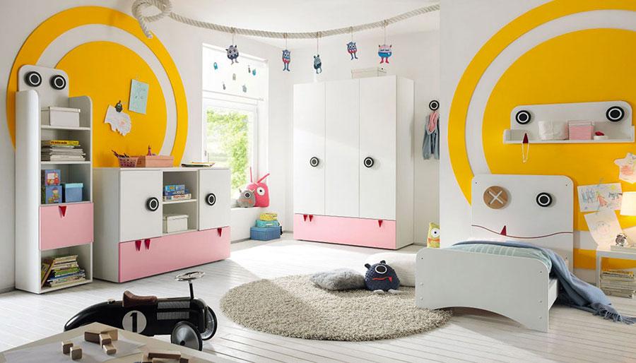 Modello di armadio per la cameretta dei bambini n.11
