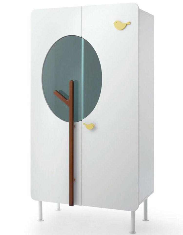 Modello di armadio per la cameretta dei bambini n.12