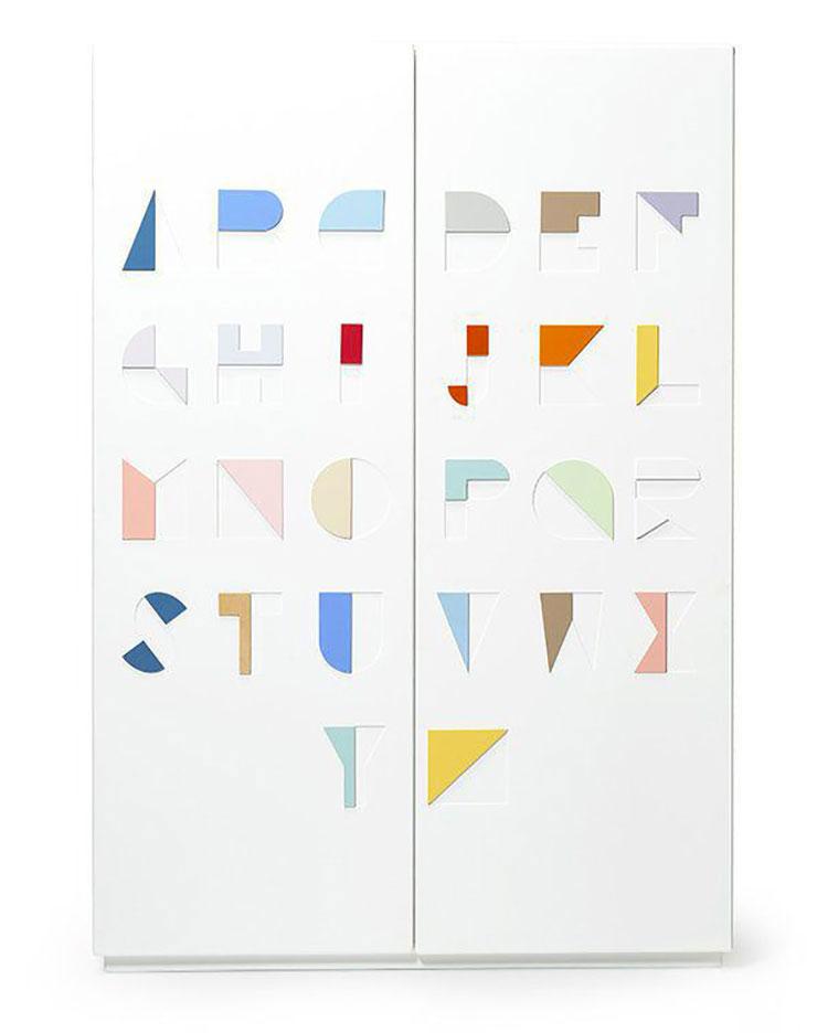 Modello di armadio per la cameretta dei bambini n.15