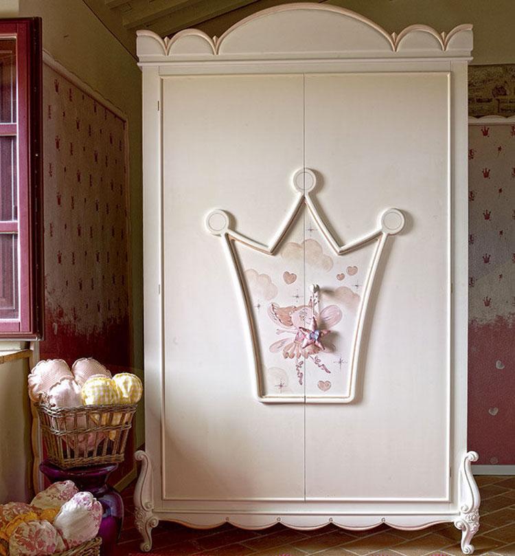 Modello di armadio per la cameretta dei bambini n.23