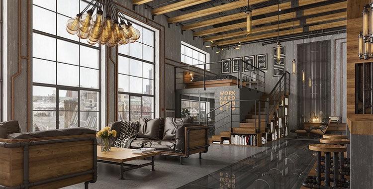 Arredamento stile industriale ecco la guida completa for Arredamento casa design interni