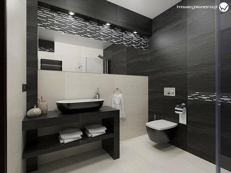 Progetto per bagno piccolo con doccia n.09
