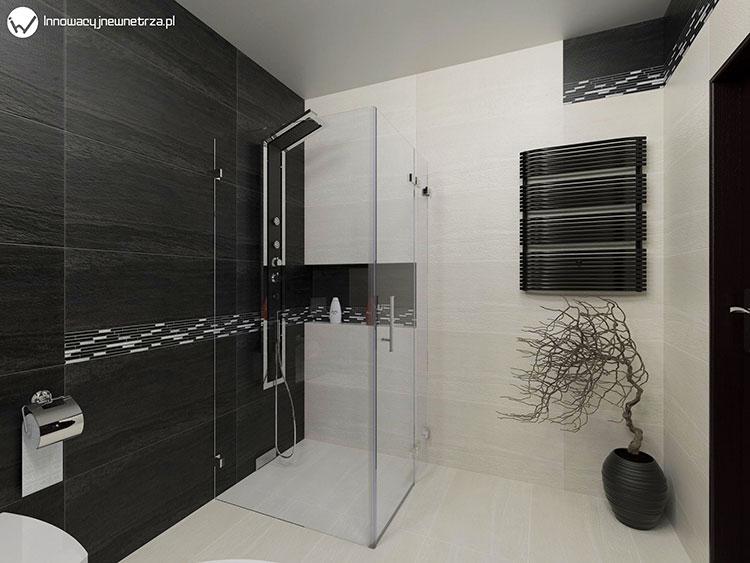 Progetto per bagno piccolo con doccia n.10