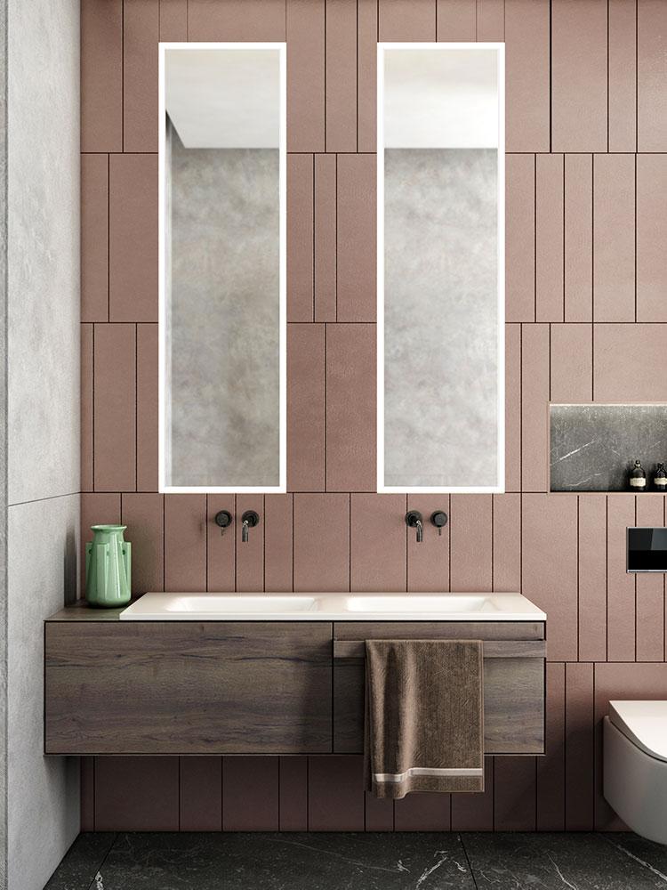 Progetto per bagno piccolo con doccia n.15