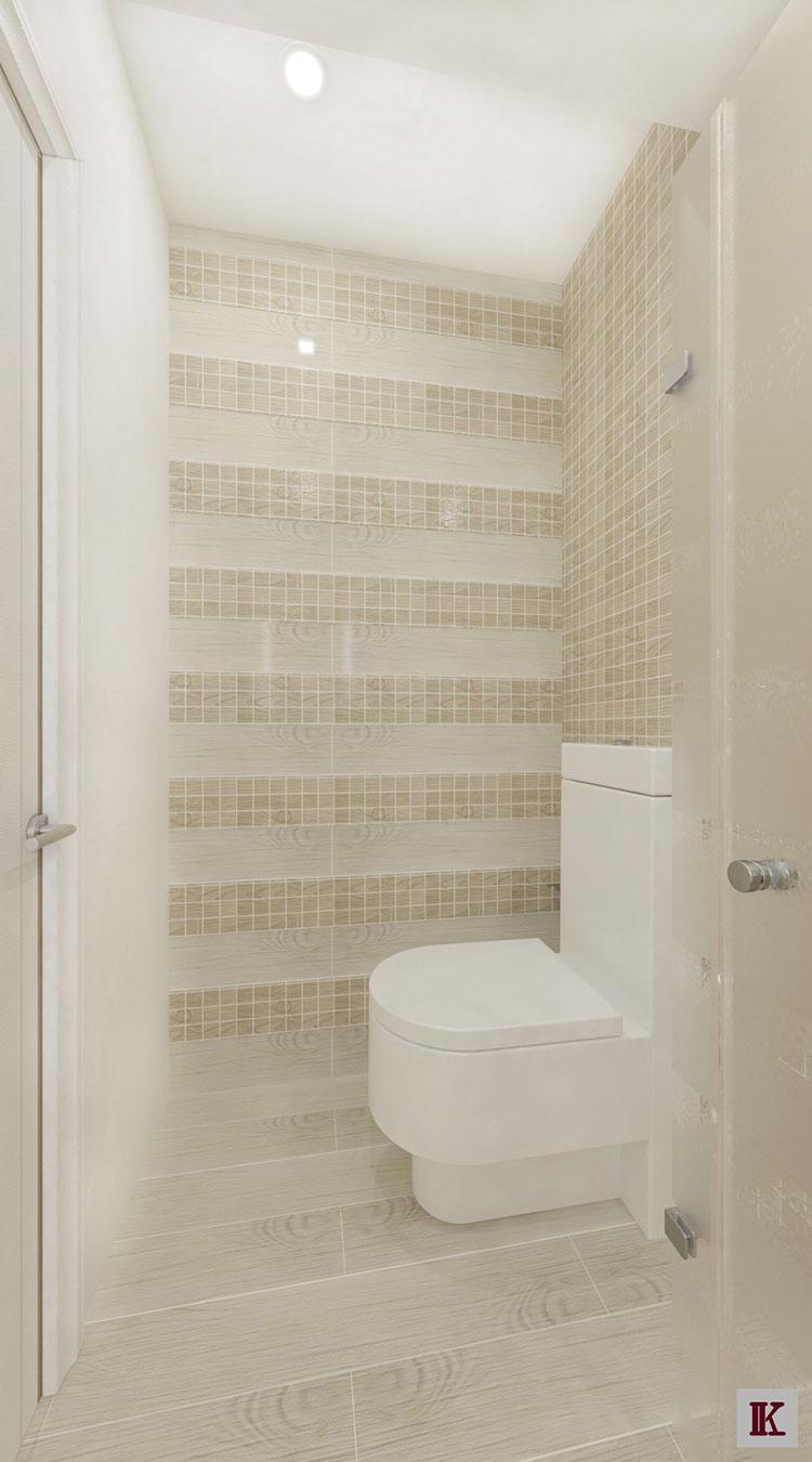Progetto per bagno piccolo con doccia n.28