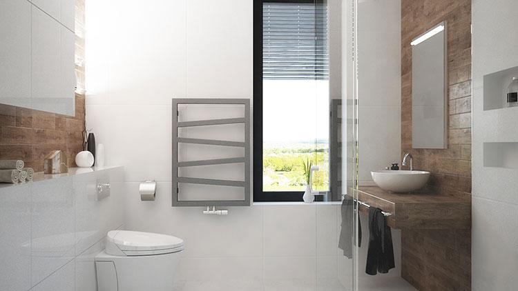 Progetto per bagno piccolo con doccia n.29