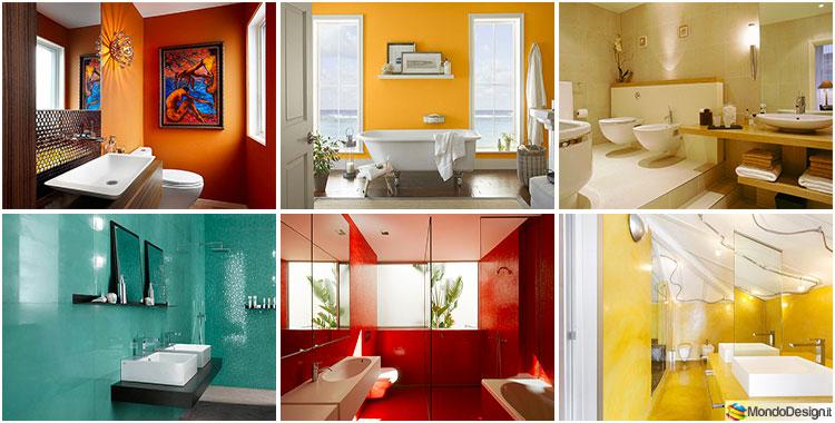 Idee per colori di pareti del bagno mondodesign
