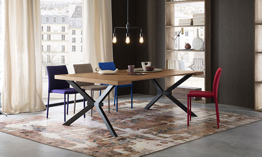 Tavolo consolle allungabile di design 20 modelli versatili ed eleganti - Tavolo riflessi shangai allungabile ...
