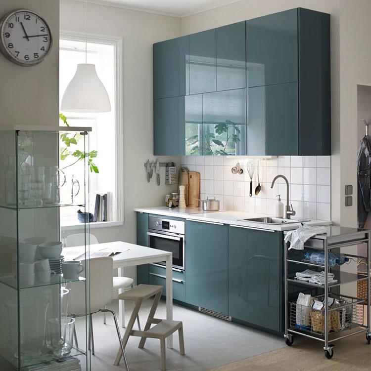 Modello di cucina di 2 metri lineare di Ikea n.03
