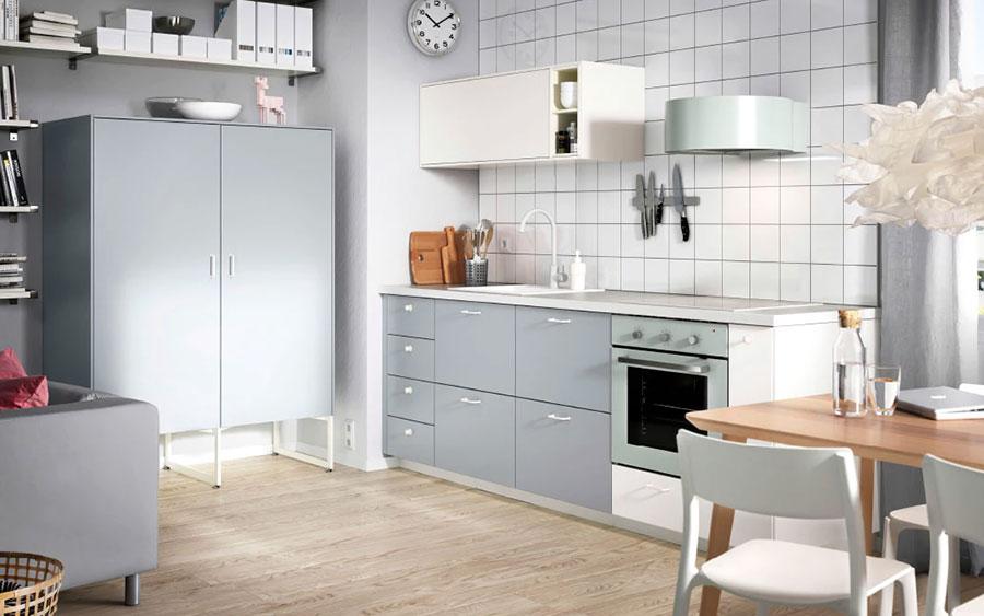 Modello di cucina di 2 metri lineare di Ikea n.05