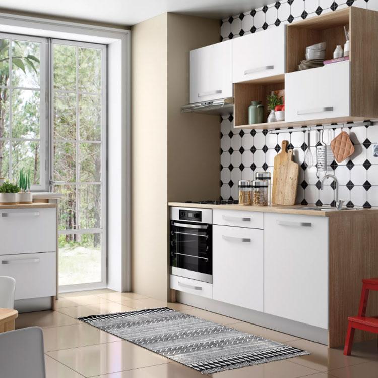 Modello di cucina di 2 metri lineare di Leroy Merlin n.02