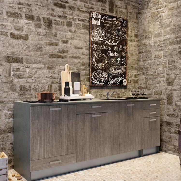 Modello di cucina di 2 metri lineare di Leroy Merlin n.03