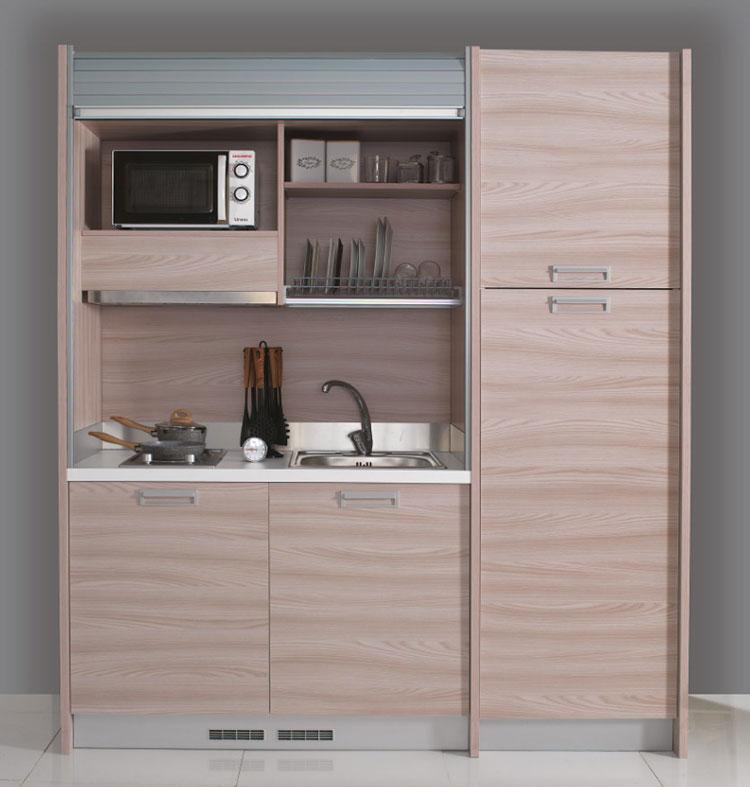 Cucine di 2 metri lineari per piccoli spazi for Mercatone uno cucine a scomparsa