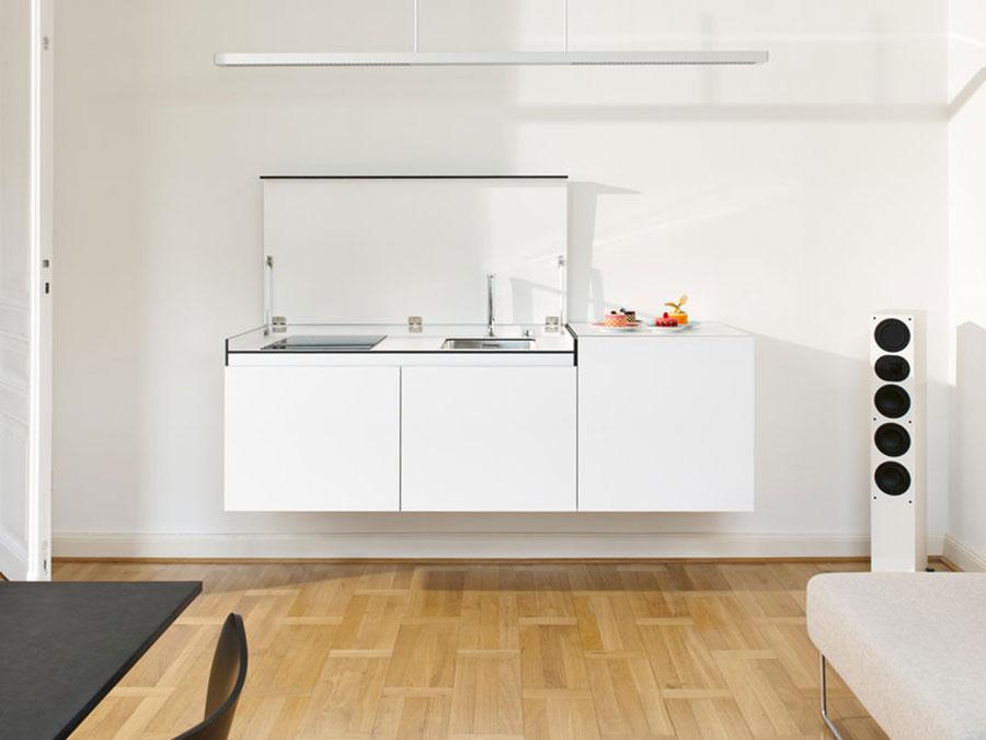 Modello di cucina di 2 metri lineare di Miniki