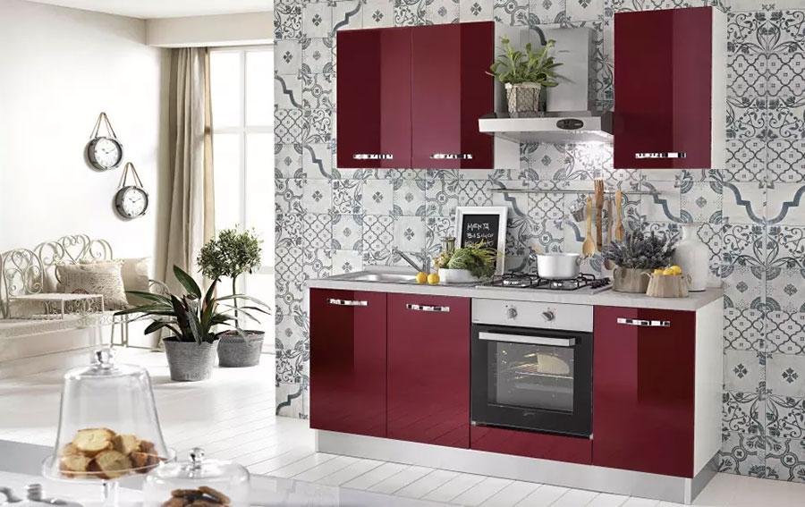 Cucine di 2 metri lineari per piccoli spazi - Mondo convenienza cucine componibili economiche ...