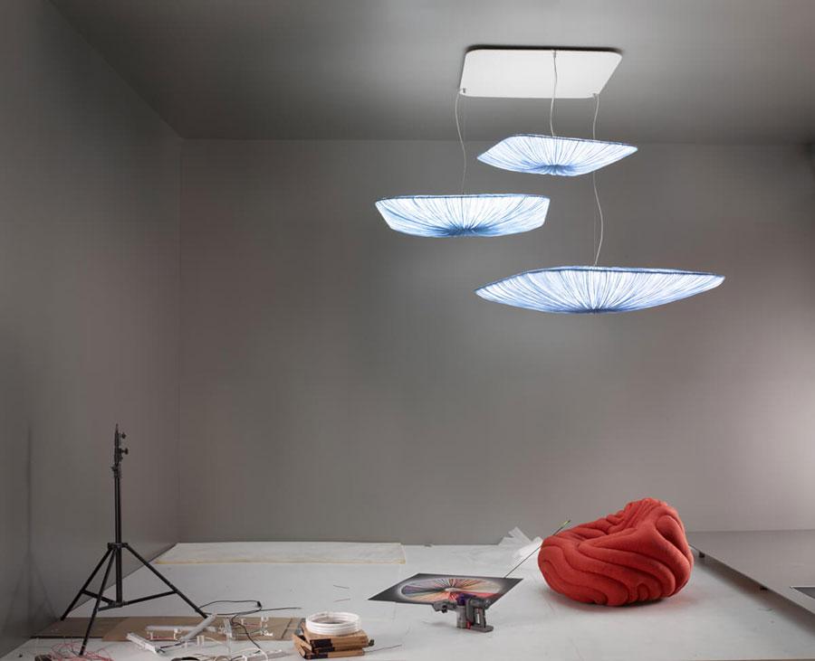 Modello di lampadario moderno di Aqua n.03