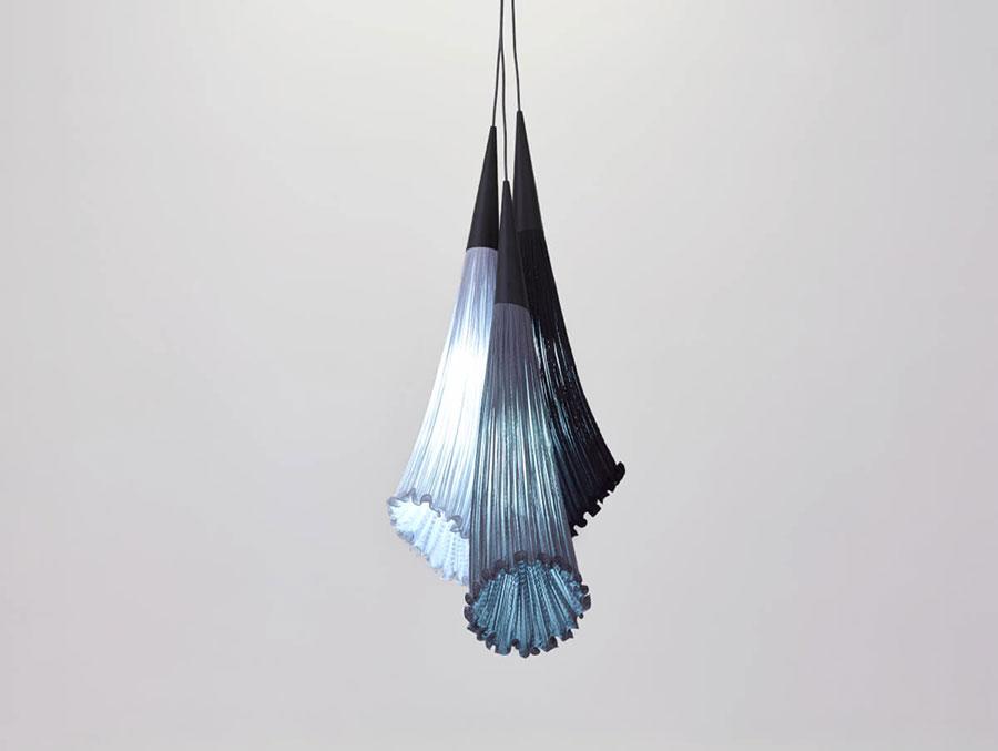 Modello di lampadario moderno di Aqua n.04