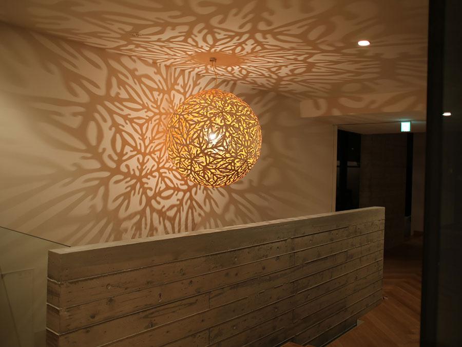 Modello di lampadario moderno di David Trubridge n.04