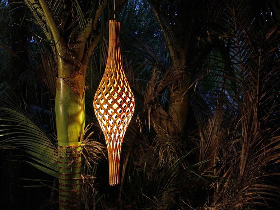 Modello di lampadario moderno di David Trubridge n.05