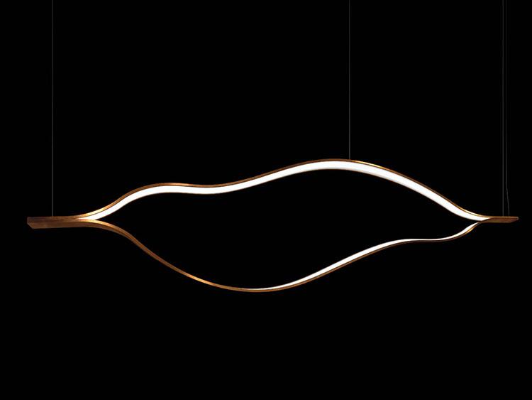 Modello di lampadario moderno di Henge n.01