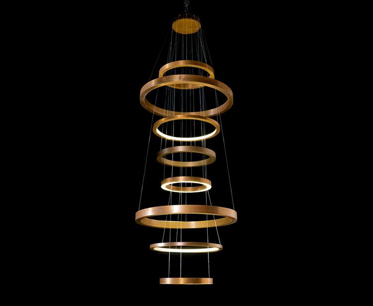 Modello di lampadario moderno di Henge n.06