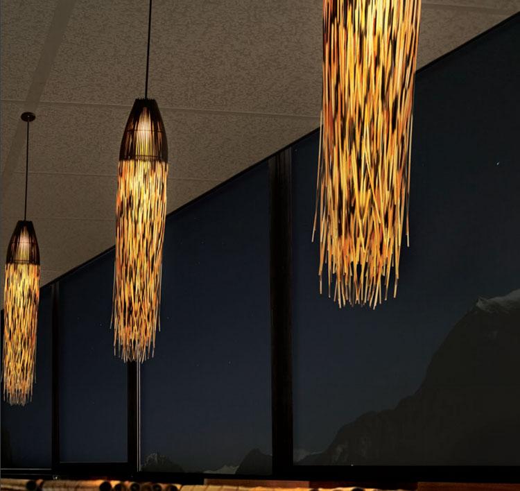 Modello di lampadario moderno di Hive n.01