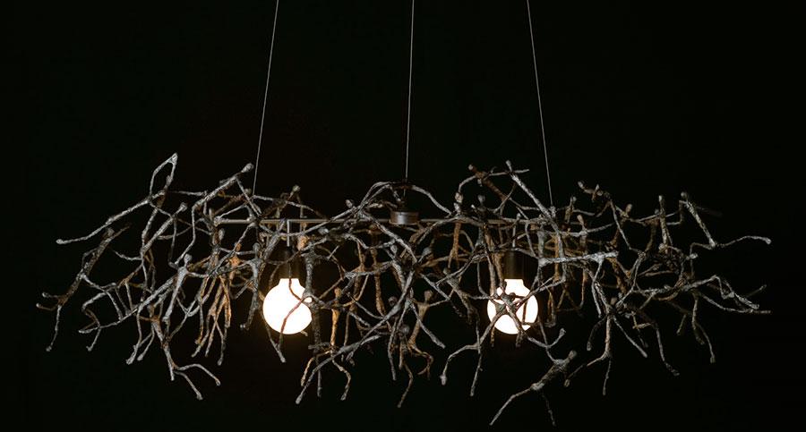 Modello di lampadario moderno di Hive n.09