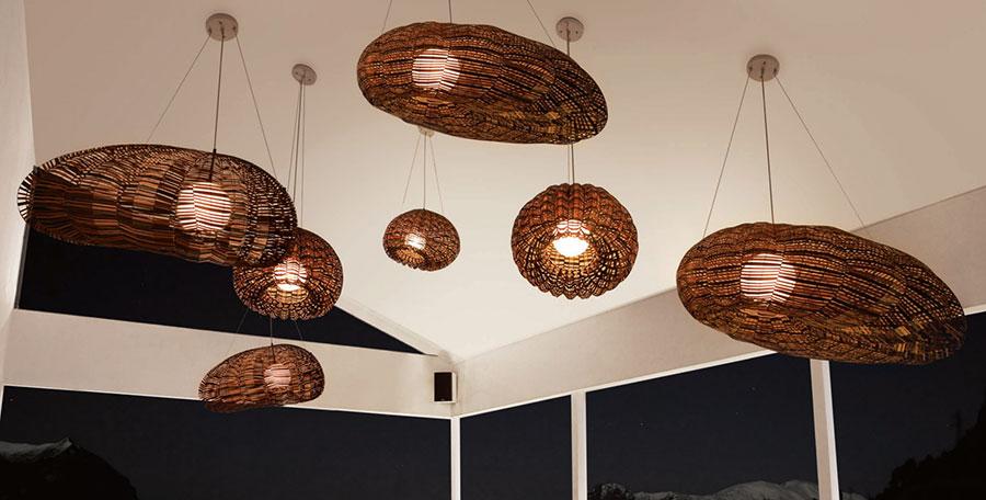 Modello di lampadario moderno di Hive n.10