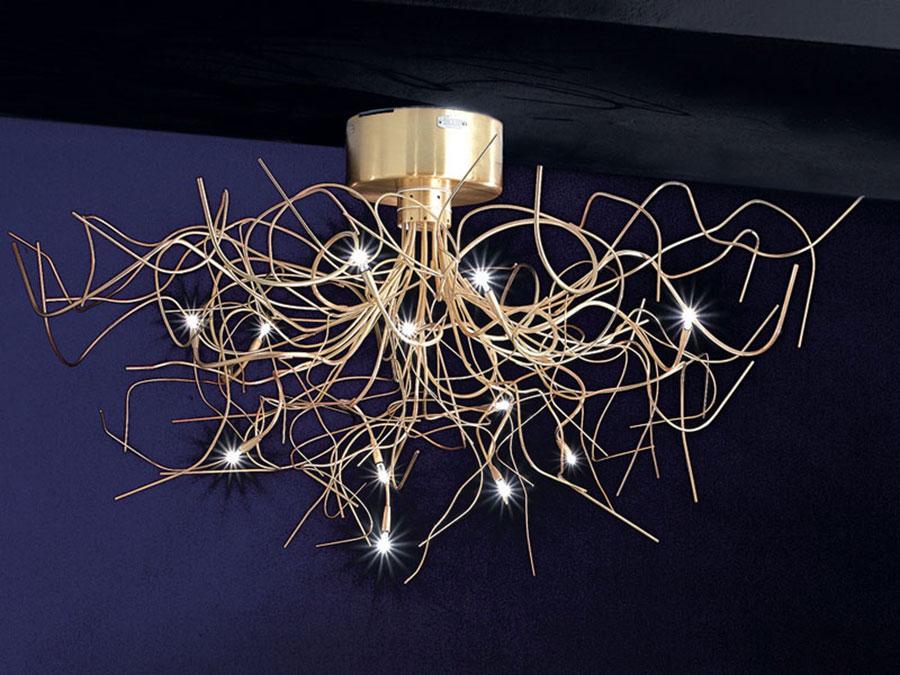 Modello di lampadario moderno di Icone n.03