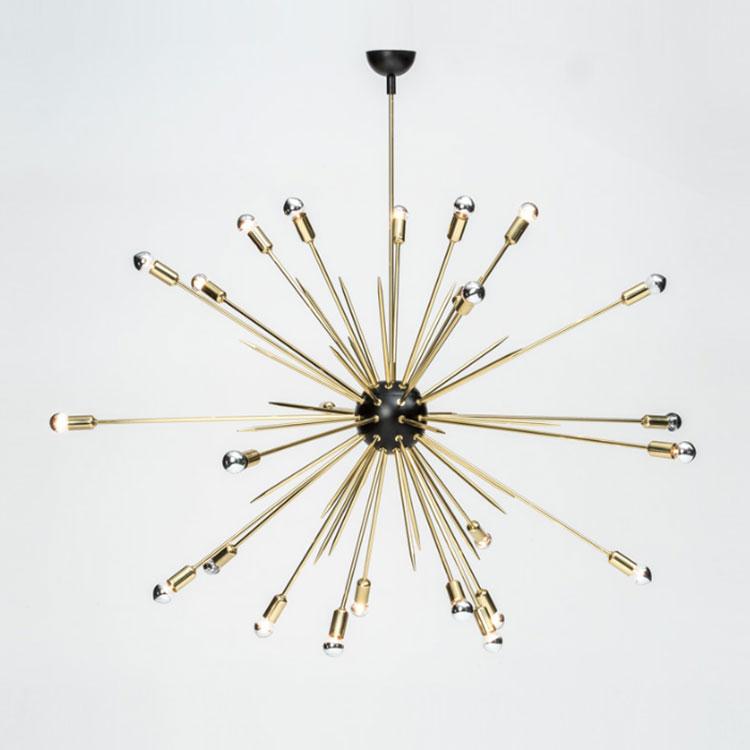 Modello di lampadario moderno di Maps Wonders n.03