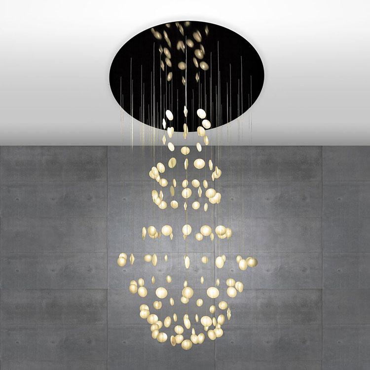 Modello di lampadario moderno di OctavioAmado n.02