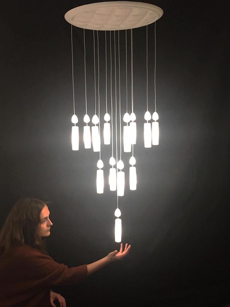 Modello di lampadario moderno di OctavioAmado n.05
