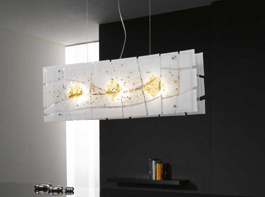 Modello di lampadario moderno di Selene n.01