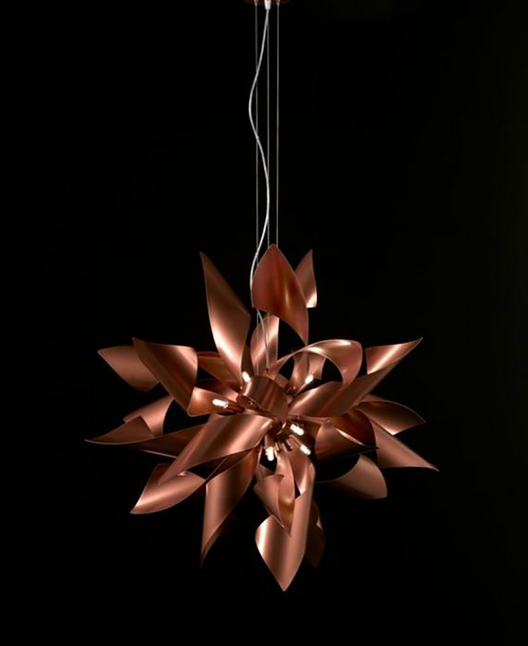Modello di lampadario moderno di Selene n.02