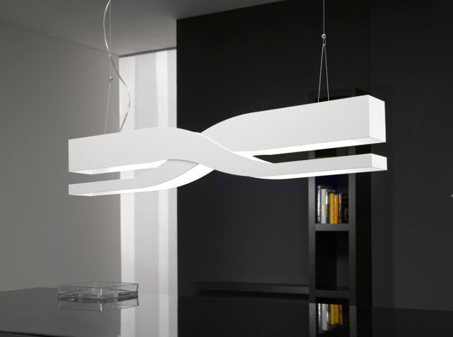 Modello di lampadario moderno di Selene n.03