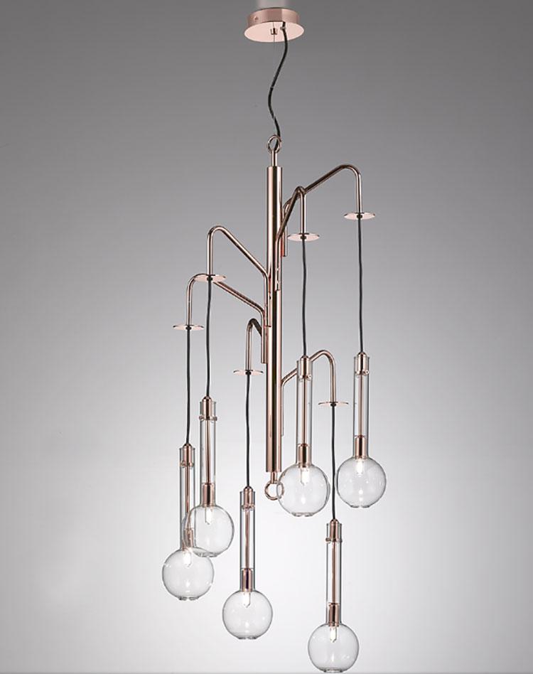 Modello di lampadario moderno di Selene n.04