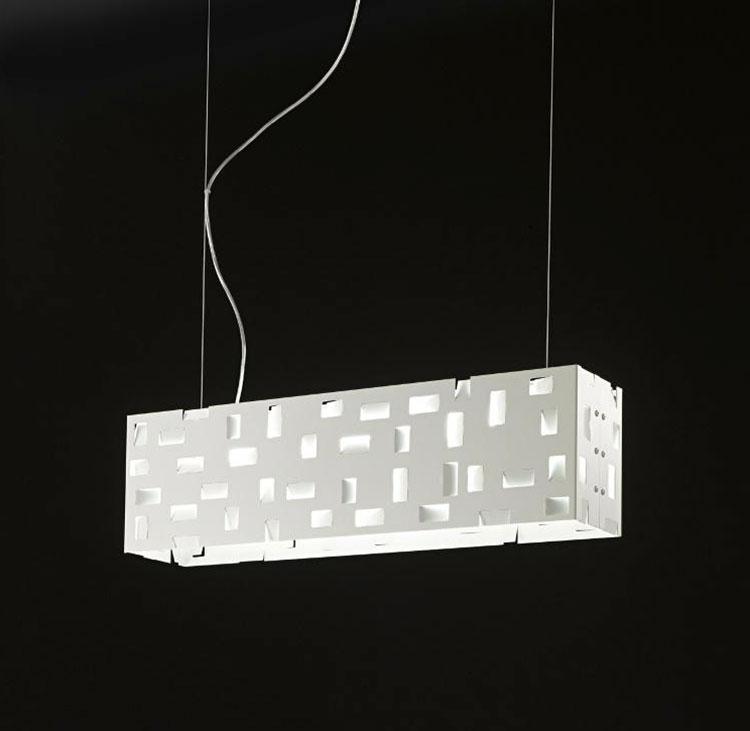 Modello di lampadario moderno di Selene n.05