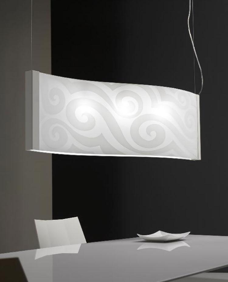 Modello di lampadario moderno di Selene n.07