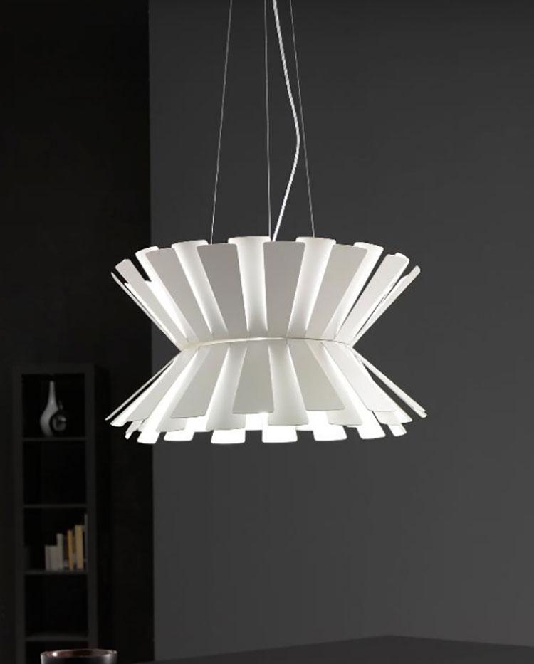 Modello di lampadario moderno di Selene n.08