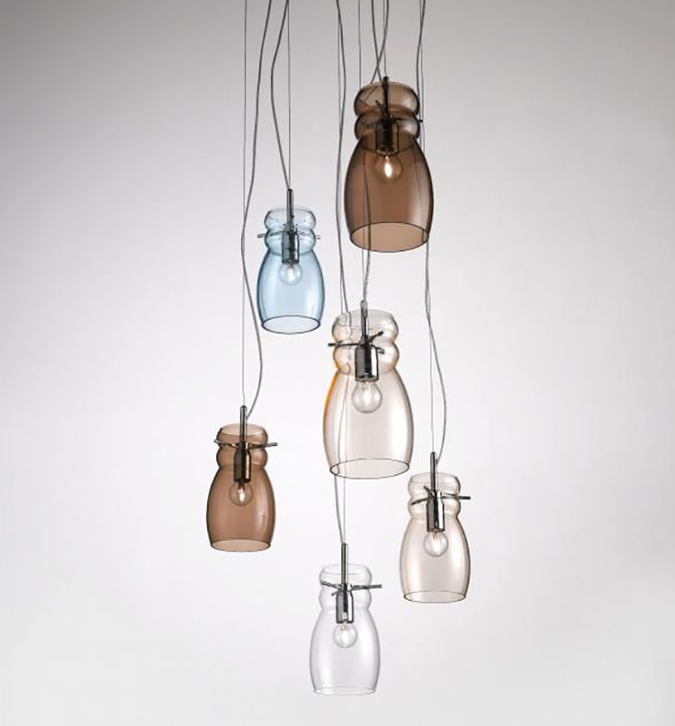 Modello di lampadario moderno di Selene n.09