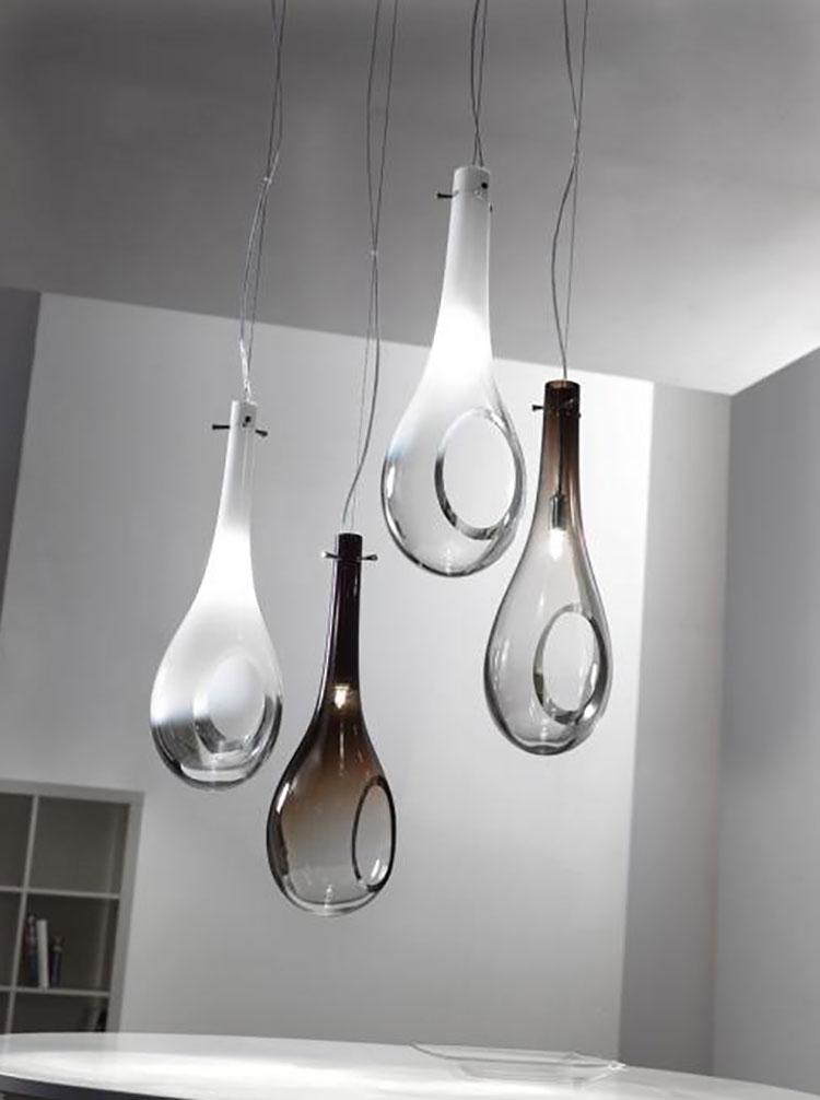 Lampadari moderni di design ecco 80 modelli spettacolari for Oggetti moderni