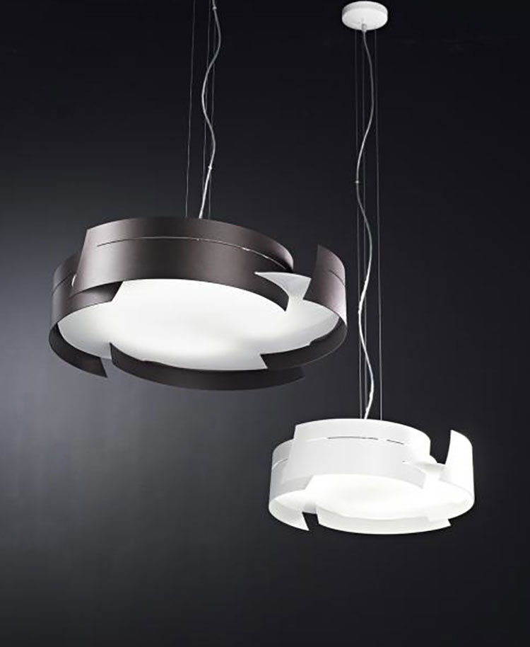 Modello di lampadario moderno di Selene n.12